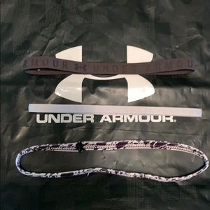 2Under Armour head bands 1 off brand
